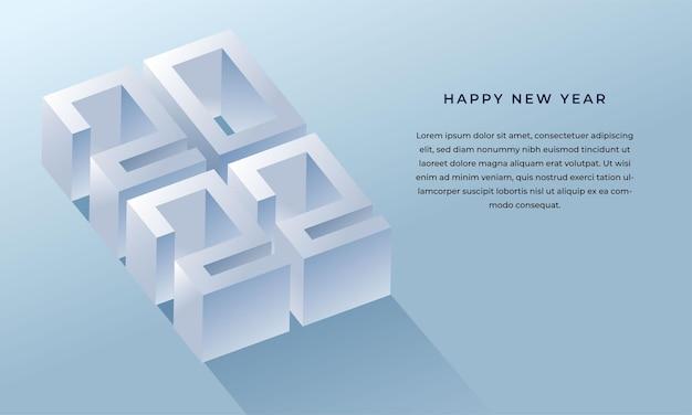 Fond de carte de voeux bonne année