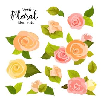 Fond de carte de voeux fleur