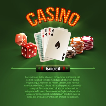 Fond de casino pocker
