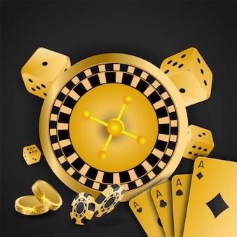 Fond de casino.