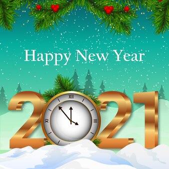 Fond de célébration de bonne année