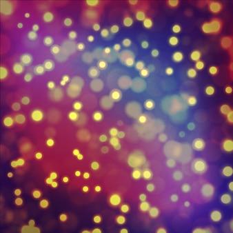 Fond de célébration de fête avec effet d'éclairage