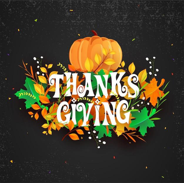 Fond de célébration de thanksgiving.