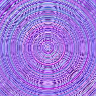 Fond de cercle concentrique abstrait dégradé géométrique