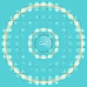 Fond de cercle de demi-teintes