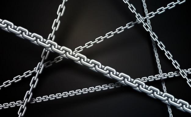 Fond de la chaîne
