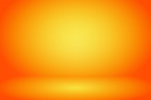 Fond de chambre studio jaune et orange