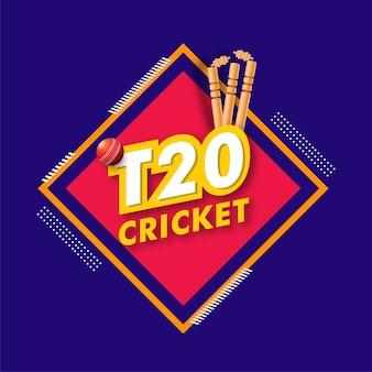 Fond de championnat de cricket.