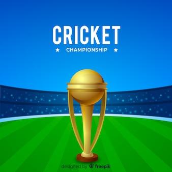 Fond de championnat de cricket