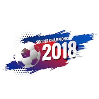 Fond de championnat de football abstrait football