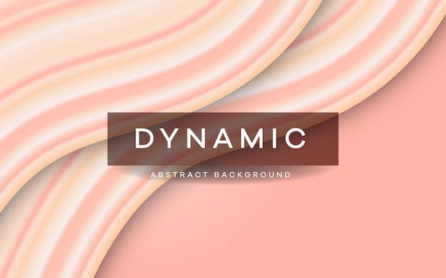 Fond de chevauchement dynamique sur des couleurs pastel