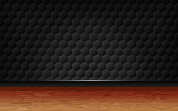 Fond de chevauchement de style texturé noir 3d