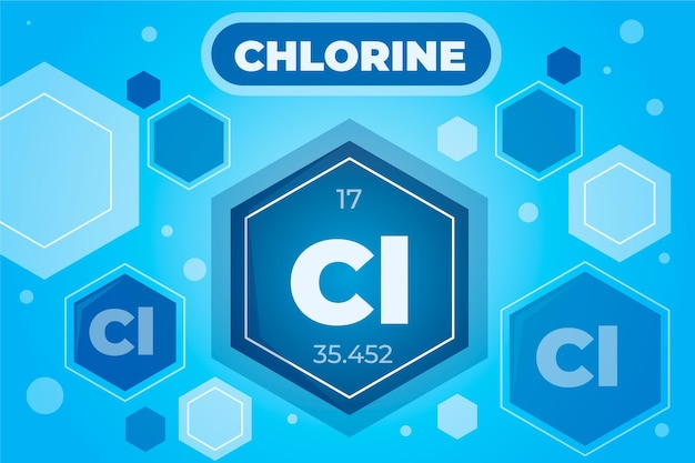 Fond de chlore