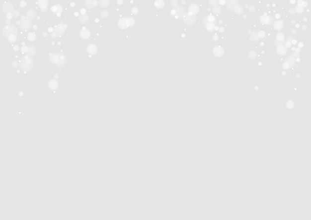 Fond de chute de neige blanche