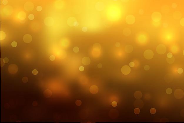 Fond de ciel abstrait avec effet de lumière flou bokeh.