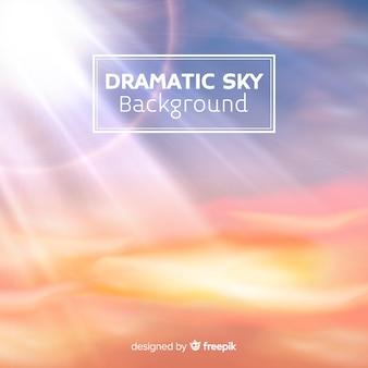 Fond de ciel lumière du jour