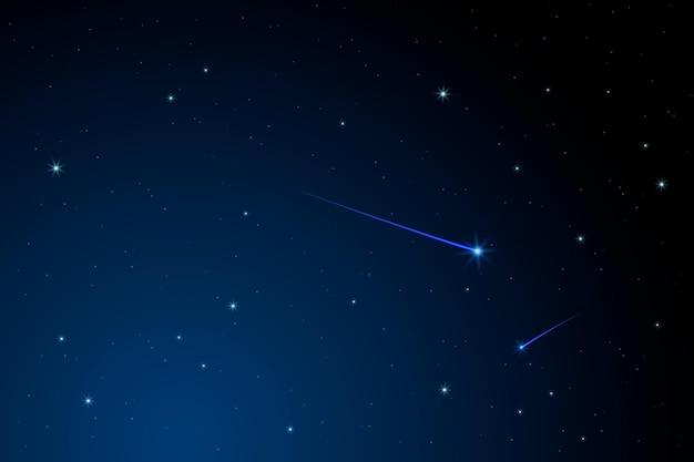 Fond de ciel nocturne pour vidéoconférence