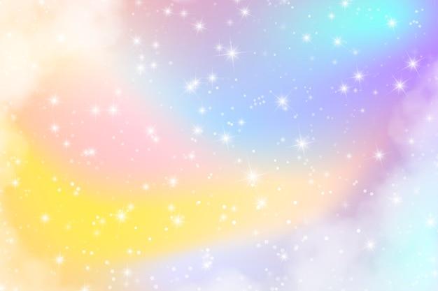Fond de ciel pastel