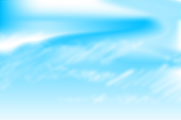 Fond de ciel pour la vidéoconférence
