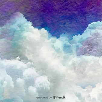 Fond de ciel réaliste