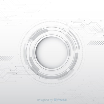 Fond de circuit imprimé réaliste