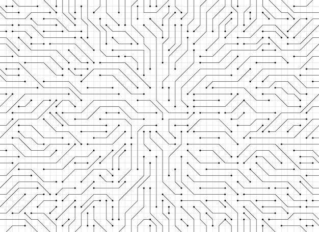 Fond de circuit imprimé.