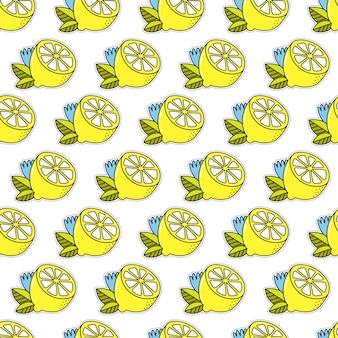 Fond de citron