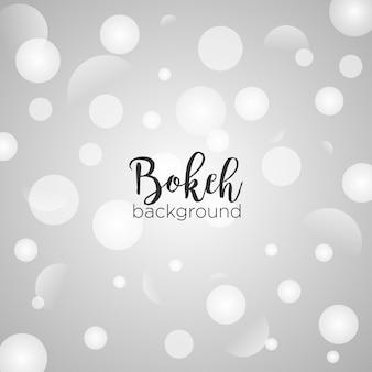 Fond clair bokeh blanc