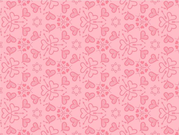 Fond de coeurs pour le concept d'amour et le papier peint.