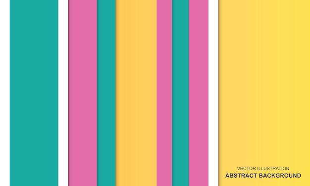 Fond coloré abstrait moderne