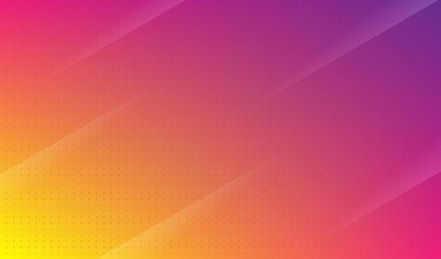 Fond coloré abstrait rose et jaune