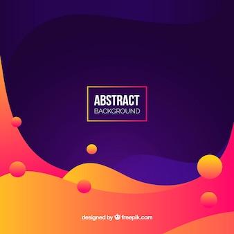 Fond coloré avec style abstrait