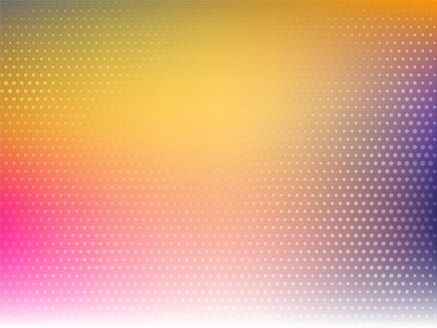 Fond coloré décoratif avec un design en demi-teinte
