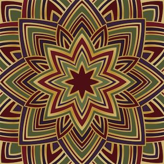 Fond coloré d'étoiles abstraites. modèle pour tapis, châle.