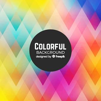 Fond coloré avec des formes abstraites