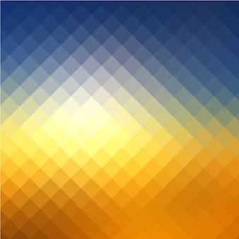 Fond coloré avec des formes carrées