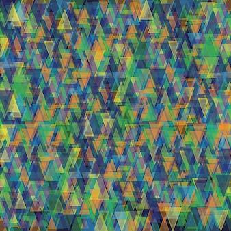 Fond coloré géométrique abstrait vector