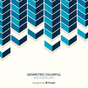 Fond coloré géométrique