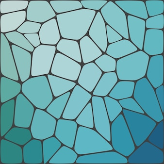 Fond coloré de mosaïque géométrique abstraite.