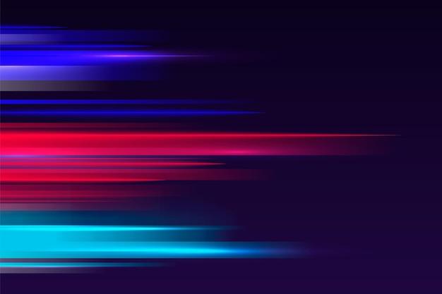 Fond coloré de mouvement de vitesse dégradé