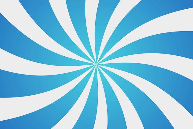 Fond coloré de soleil bleu.