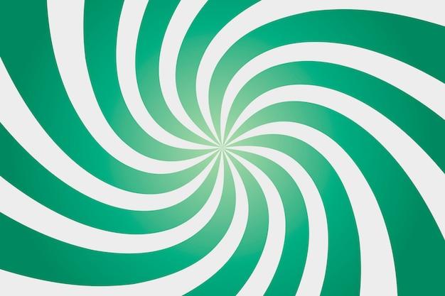 Fond coloré de soleil vert.