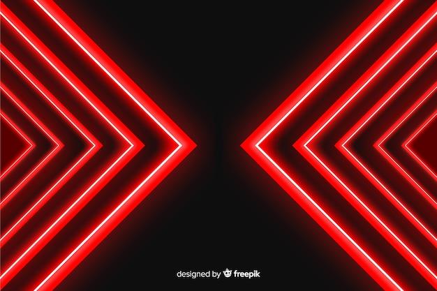 Fond avec composition de lumière rouge