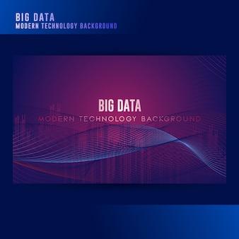Fond de concept big data