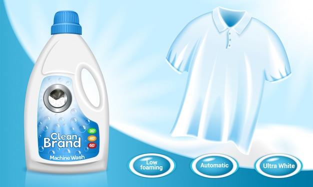 Fond de concept de blanchisserie
