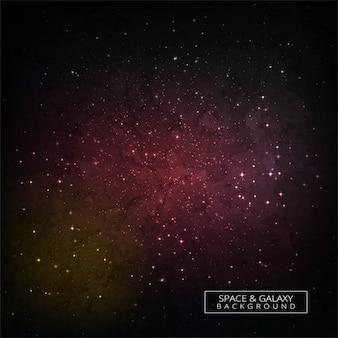Fond de concept coloré espace lointain galaxie univers