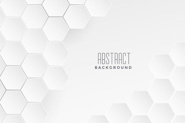 Fond concept géométrique blanc