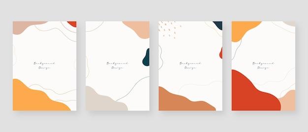 Fond de concept minimal. arrière-plans abstraits de memphis avec espace de copie pour le texte.