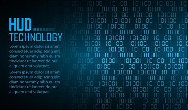 Fond de concept de technologie future de cyber circuit cadenas fermé sur fond numérique