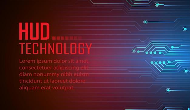 Fond de concept de technologie future de cyber circuit cadenas fermé sur vecteur de données numériques